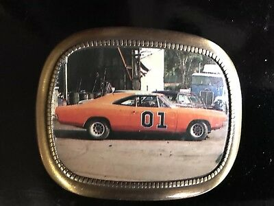 Vintage The Dukes Of Hazzard General Lee Not Pacifica Belt Buckle 1980