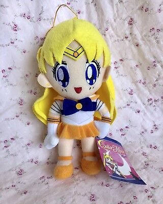 Sailor Moon Official Genuine Sailor Venus Doll Plush NWT