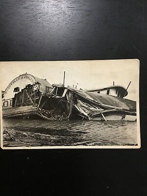 Louisville & Cincinnati Riverboat Postcard