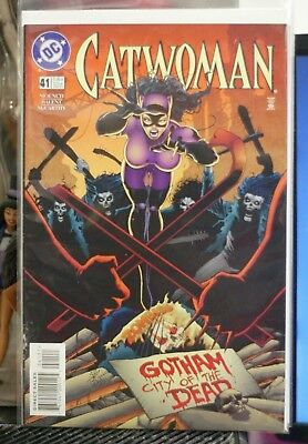 Catwoman Vol 2 #41 Dc Comics First Print (1997)