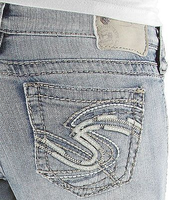 Womens Silver Jeans Light Super Low Rise Tuesday Bootcut 24 25 26 27 28 29 30