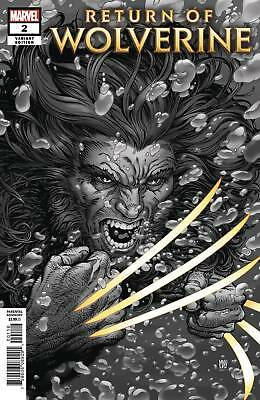 Return Of Wolverine #2 Nycc 2018 Mcniven Variant Marvel Comics X-Men Comic Con