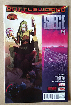 Siege #1 (Battelworld) - 1St Print Marvel Comics (2015) Secret Wars