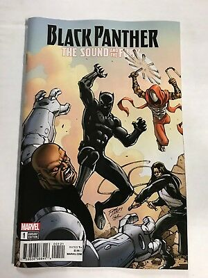 Black Panther Sound And The Fury First Print Marvel Comics (2018)