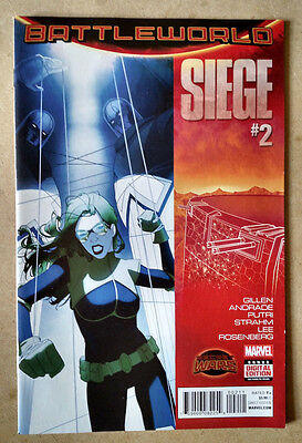 Siege #2 (Battelworld) - 1St Print Marvel Comics (2015) Secret Wars
