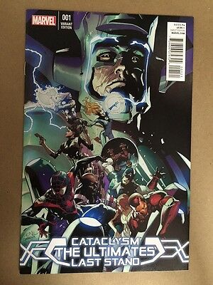 Cataclysm Ultimates Last Stand #1 Yu Variant 1St Print Marvel Galactus Avengers
