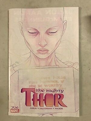 Mighty Thor #706 First Print Marvel Comics (2018) Death Of Jane Foster