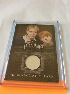 2007 Artbox Harry Potter TOOTP Update Costume C12 598/600