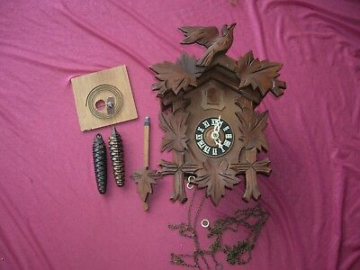 Regula G.m. Cuckoo Clock Made In Germany/ Cuckoo Clock Germany