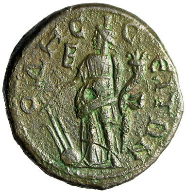 "HIGH QUALITY Odessos Thrace Coin of Gordian III & Tranquillina ""Fortuna"" GENUINE"