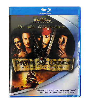Pirates of the Caribbean: The Curse of the Black Pearl Blu-ray Disc