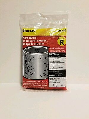 Shop-Vac 90585 Type R Foam Sleeve, 2-Pack, FREE SHIPPING