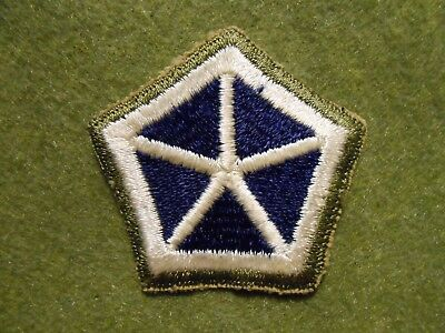 WW2 Theater Made 5th Corps Patch
