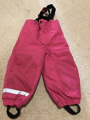 H&M Kids Girls Snow/Ski Pants Trousers With Brace Size 2-3 Years
