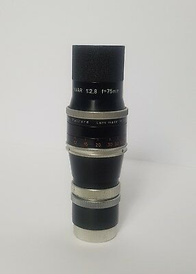 Vintage Kern-Paillard Lens VISIFOCUS + Instructions and Original Leather Case
