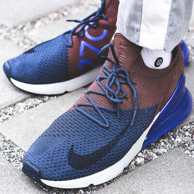Nike Air Max 270 Flyknit Hommes Running Trainers Ao1023 Sneakers Chaussures 270