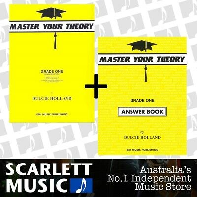 Master Your Theory Grade 1 One Bundle Theory Book and Answers *SAVE OVER 5%*