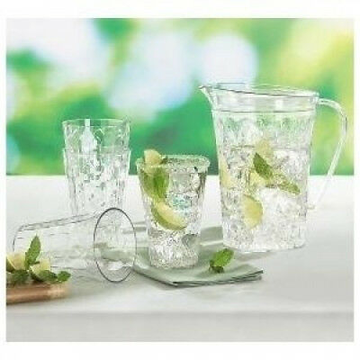 Kitchenware Ice Prisms Pitcher and Tumbler Set. Free Shipping