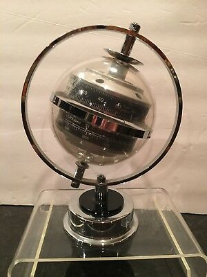 Weather Station Sphere on Axis Made in West Germany