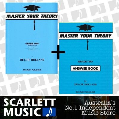 Master Your Theory Grade 2 Two Bundle Theory Book and Answers *SAVE ALMOST 5%*