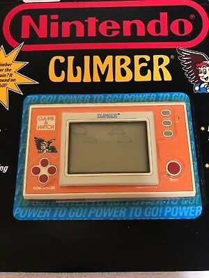 *CLIMBER* NOS  Nintendo game and watch CARDED sealed new old stock Vintage RARE