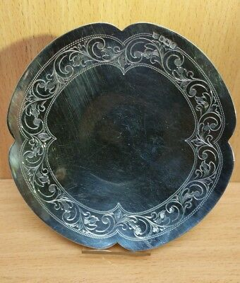 Sterling Silver Salver Fully Hallmarked * Fast Dispatch*
