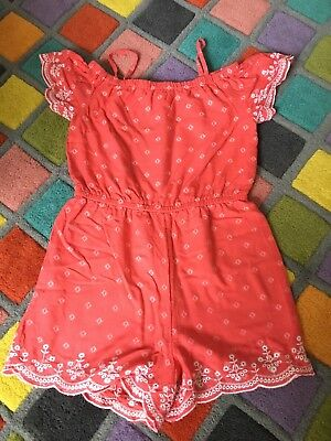 Girls Pretty Summer Playsuit Age 5-6 Years