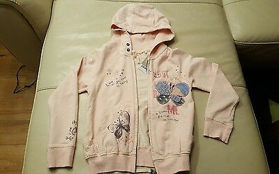 Girl Zip Through Hoody from Next age 7 years* Brand New with Tags**