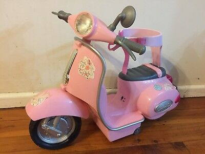 Zapf Creation Baby Born Pink Scooter ( No Remote )