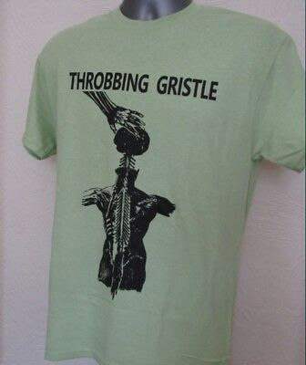 Throbbing Gristle T Shirt Electronic Industrial Music W435 Cabaret Voltaire Coil