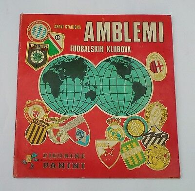 Complete Album With All Stickers Football Clubs - Panini 1975 - Vgc