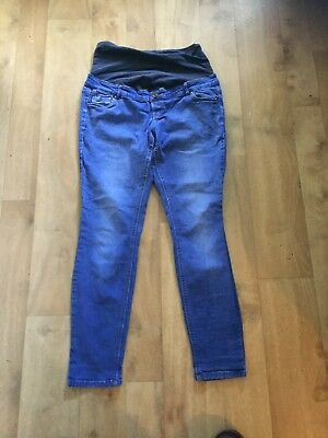 Ladies New Look Over The Bump Maternity Jeans Size 14