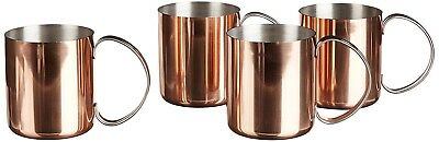 (4 Pack) - Southern Homewares Copper Mug for Moscow Mules Copper-Clad