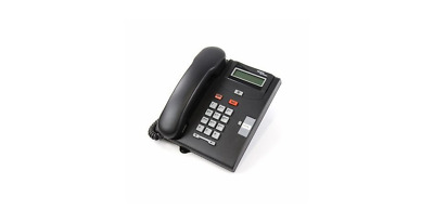 Nortel Norstar Networks Phone T7100 NT8B25AABL - Charcoal