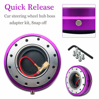 Quick Release Snap Off Steering Wheel Boss Kit Hub Ideal For Land Rover Defender