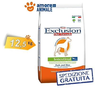 Exclusion Diet Intestinal Medium / Large Breed Maiale e Riso 12,5 Kg > Per Cane