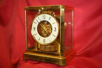 AS IS Vintage LeCoultre Atmos Mantle Clock 528-8