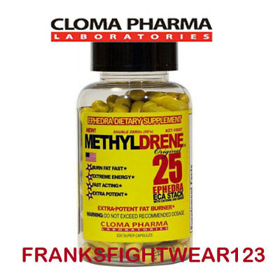 CLOMA PHARMA Fat Burners/Weight Loss Methyldrene 25 eca- FREE SAME DAY SHIPPING!
