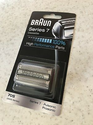 Braun 70S Series 7 Electric Shaver Replacement Foil - Silver