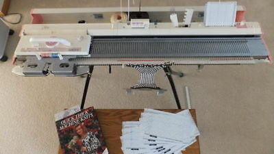 Brother Knitting Machine Kh 260 Punchcard + Kr 260 Ribber