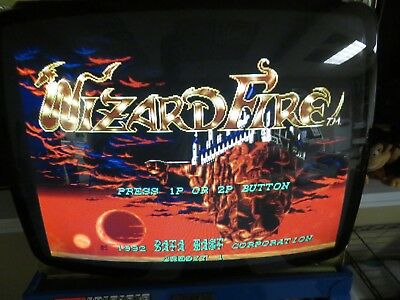Data East's PCB: Wizard Fire