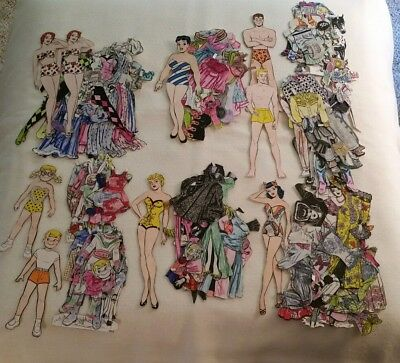 Vintage Katie Keene And Friends Paper Dolls