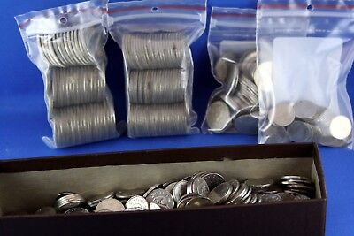 Lot of Canadian Coins Currency Mixed Dates Denominations Approx. $117.00