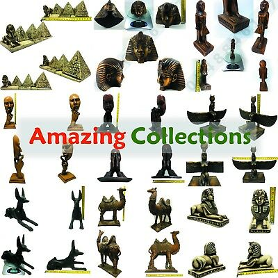 Amazing Collection Rare Antique Pyramids Camel Figurine Vintage Decor Egypt Gift