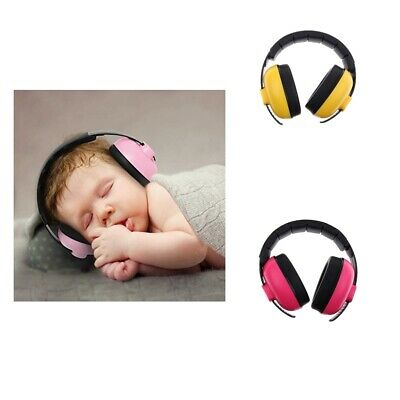 2Pcs Kids Baby Ear Noise Attenuating Defenders Ear-Muffs 0-5 years