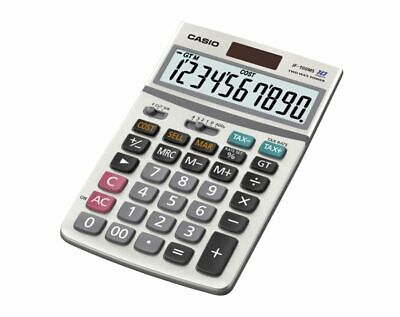 Casio® JF100BM Solar/Battery-Powered Calculator