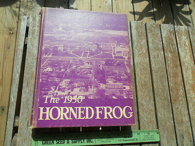 1950 TCU Texas Christian University Horned Frog College Yearbook