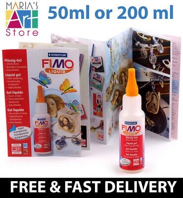 Fimo Liquid Deco Decorating Gel Modelling Clay Accessories Kids