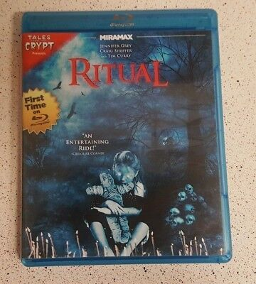 Tales From The Crypt Presents - Ritual Blu-ray Disc RARE OOP! Jennifer Grey.