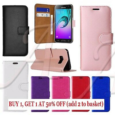 Case For Samsung Galaxy S6 S7 Edge S8 S9 Plus Genuine Leather Flip Wallet Cover